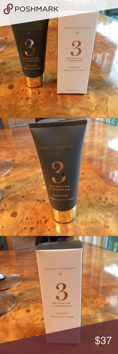 Beautycounter NIB No 3 Balancing Facial Mask Beautycounter NIB No 3 Balancing Facial Mask. Perfect for all skin types and those concerned with congestion and oily skin.  Retails for $48 at the beautycounter site.  Please price is firm.  This was only opened to take the picture.  Seal is still on on the cap. Beautycounter Other