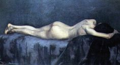 Eduardo Schiaffino Painting, The Repose