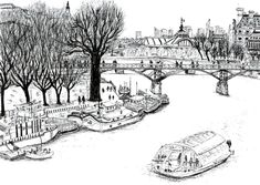 coloring pages for adults town scapes - Google Search