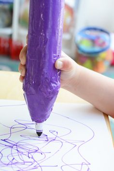 Make Harold's Purple Crayon - Inspired by the Classic Book - Meri Cherry