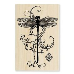 Stampendous Dragonfly stamp