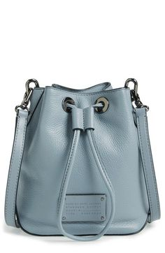 MARC BY MARC JACOBS 'New Too Hot to Handle' Leather Bucket Bag available at #Nordstrom