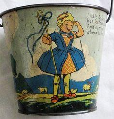 vintage bucket...