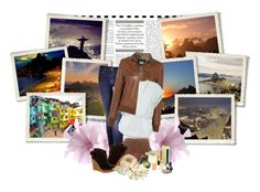 """""""Next Stop: Rio de Janeiro"""" by littlemisssunshine-21 ❤ liked on Polyvore featuring Mother, D&G, Wilfred, Vanessa Bruno Athé, Rock & Candy, Yves Saint Laurent, Chloé, shu uemura, Pop Beauty and Hoss Intropia"""