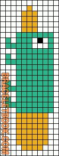 Alpha Friendship Bracelet Pattern #1310 - BraceletBook.com