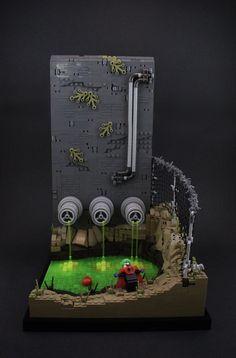 Lego Minifigure Display, Lego Display, Lego Batmobile, Lego Spiderman, Lego Universe, Big Lego, Lego Halloween, Micro Lego, Lego Sculptures