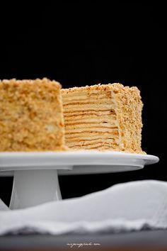 Moje Wypieki | Marcinek Food Cakes, Cupcake Cakes, Sweet Recipes, Cake Recipes, Honey Cake, Fancy Cakes, No Bake Desserts, Yummy Cakes, No Bake Cake