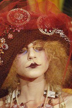 Wouldn't she make a great mad dame? John Galliano Fall 2007.
