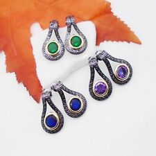 Shiva's Silver | eBay Shops Vintage Hippie, Hippie Style, Black Rhodium, Drop Earrings, Shops, Shopping, Ebay, Jewelry, Antique Gold