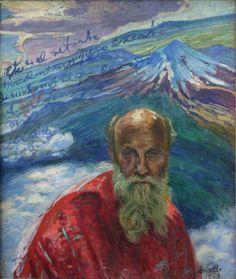 Colección Blaisten Dr. ATL (Gerardo Murillo) (1875-1964)  Autorretrato , 1959  Oleo / masonite 70 x 59.5 cm