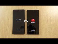 Sony Xperia Z3+ VS Huawei P8 - Speed & Camera Test! - YouTube