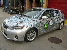 Car Customization by Jon Burgerman