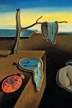 Salvador Dalí (Spain, The Persistence of Memory (detail), oil on canvas Famous Art Paintings, Famous Artwork, Classic Paintings, Salvador Dali Paintings, Wow Art, Classical Art, Psychedelic Art, Surreal Art, Aesthetic Art