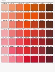 PANTONE color chart orange / pink / red Source by lisanurier Pms Color Chart, Pms Colour, Colour Pallette, Colour Schemes, Paleta Pantone, Deco Orange, Orange Pink, Pantone Color Chart, Color Palettes