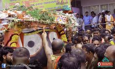 Exclusive pictures of #NabakalebaraRathaJatra- 'Pahandi of Lord Jagannath': The Pahandi of Lord Jagannath is the most colourful show of the Ratha Jatra in which the idol is held tightly in the arms by Daitapatis. The idol is pulled from behind and the front alternatively with the ropes tied firmly to his body. The deity is made to jump from place to place and advanced to his charoit NandiGhosa.