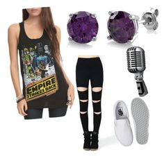 """""""Selene"""" by black-337 on Polyvore featuring BERRICLE and Vans"""