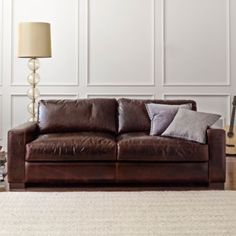 """Signature 84"""" Leather Sofa found at @JCPenney"""
