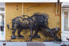 Stunning Street Artworks by DALeast