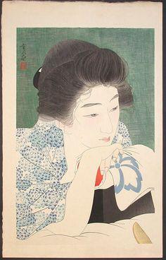 Gallery Sobi Pallas/Shin-hanga No.443 Torii, Kotondo / Morning Hair