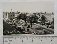 1961 postcard Chipping Norton Market Place