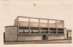 Jaroslav Rössler - Pavilon Československých stavitelů, Výstava soudobé kultury (Pavilion of Czechoslovak Builders, Exhibition of Contemporary Culture)