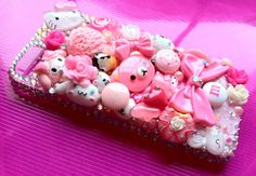 Kawaii Decoden Phone Case iPhone 5 by Decodoodah on Etsy, £49.00