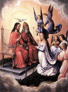 Coronation of the Virgin -hel Sittow of Michael Sittow (Reval, circa 1468 – aldaar, circa 1525-26) was een Estse schilder die wordt gerekend tot de vroeg-Nederlandse school, de zogenaamde Vlaamse Primitieven.