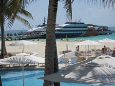 Right next to the Ferry to Cozumel  Call Promal Vacations to book  516-608-0568