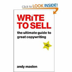 Write To Sell, Andy Malsen: The Ultimate Guide to Great Copywriting. Career change?