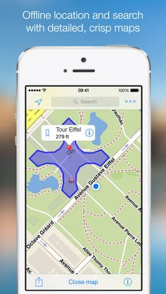OffMaps 2 - Offline Maps for Paris, London, Berlin, New York ... by iosphere GmbH