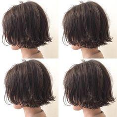 あご上ラインのマッシュくせ毛風ボブ クリーミーなグレーベージュカラーが透明感バツグンでボブにヌケ感を出します✨✨ カット✂︎7200 カラー8200 #hair #bob #shima #shimaplus1 #シマ #アッシュカラー #コテ巻き #クルーエル#外ハネボブ #fudge #パリ #tokyo #アンニュイ #アーペーセー #アニエスベー #レペット #ファッション #fashion #hairstyle ヘア #ルブタン #id #くせ毛風 #ボブヘア #透明感カラー #パープルグレー#マッシュボブ