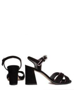 Boutique La Femme - sandalo con tacco - www.lafemmecorreggio.com