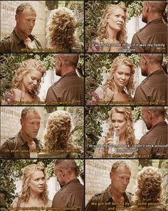 The Walking Dead, S3 Andrea & Merle ...We got something in common, blondie