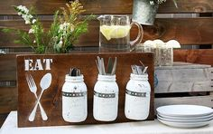 56 New Ways to Repurpose a Mason Jar This Summer via Brit + Co.