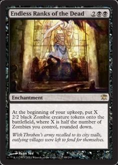Endless-Ranks-of-the-Dead-FOIL-x1-Magic-the-Gathering-1x-Innistrad-mtg-game-card