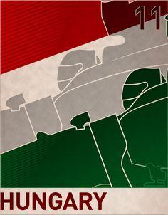 Minimal Formula Posters By Jason Walley - Minimal formula 1 posters jason walley
