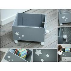 caja juguetes con estrellas en Etoile No.5 www.etoileno5.com