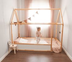 Most up-to-date Free of Charge Cama casita Montessori - Hack Ikea KURA - Meine F. Most up-to-date Free of Charge Cama casita Montessori – Hack Ikea KURA – Meine Familienreise Id Ikea Bedroom, Baby Bedroom, Baby Room Decor, Childs Bedroom, Boy Decor, Girls Bedroom, Ikea Toddler Bed, Toddler Rooms, Cama Montessori Ikea