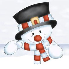 Frosty the Snowman Clip Art - Bing Images Frosty The Snowmen, Cute Snowman, Snowman Crafts, Christmas Crafts, Christmas Decorations, Christmas Patterns, Christmas Graphics, Christmas Clipart, Christmas Printables