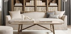 Obsessed with Restoration Hardware. Belgian Camelback | Restoration Hardware