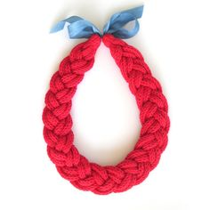 Knitted Cords Necklace