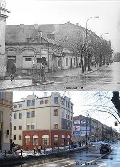Narutowicza 1980 i 2010 r.