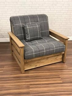 Rustic Style Chair Bed