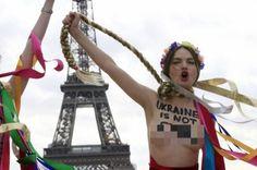 ... Femen topless protest
