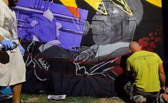 #AquinumFotoFan  Che dire del nostro David Lanzi che indossa la tshirt di Aquinum mentre prende parte ad un live painting? L'evento è l'Acoustic Rocca Festival e il concerto ispiratore è quello dei The Sycamore, un collettivo di giovani musicisti appassionati di musica Jazz!  #Aquinum2017 ispira l'arte!