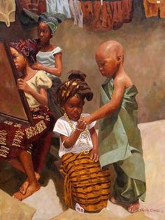 For the love of tradition by Olumide Oresegun