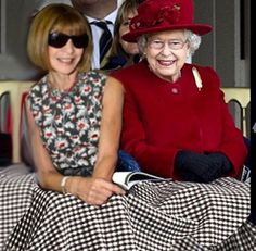 Melhor amiga da rainha da Inglaterra