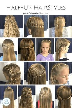70 Beautiful and Easy Hairstyles for Girls Half up hairstyles for girls. 14 hairstyles for your girl.Half up hairstyles for girls. 14 hairstyles for your girl. Easy Hairstyles For Medium Hair, Hairstyles With Bangs, Medium Hair Styles, Curly Hair Styles, Natural Hair Styles, Hairstyles Videos, Hairstyles Pictures, Hairstyles 2016, African Hairstyles