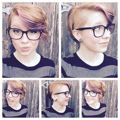 Draag jij een bril? 11 korte kapsels voor brildragende dames
