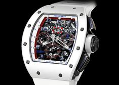 In tandem with the opening of Richard Mille's newest boutique (in Singapore), the RM 011 Ceramic NTPT Asia Limited Edition brings a (curiously American! Richard Mille, Red Dates, Royal Oak Offshore, Swiss Luxury Watches, Audemars Piguet Royal Oak, Luxury Watch Brands, Watch Companies, Watches For Men, Men's Watches